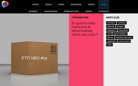 Screenshot of Press Page neodus.net - Blog   Neodus - captured Nov. 5, 2014
