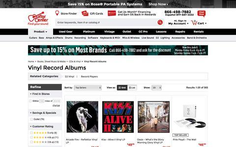 Vinyl Record Albums   Guitar Center