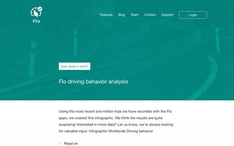 Screenshot of Blog driveflo.com - Blog - captured April 1, 2016