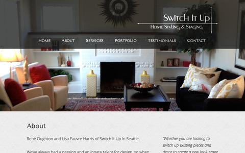 Screenshot of About Page switch-it-up.com - About | Switch It Up, Seattle, Bellevue, WA - captured March 7, 2016