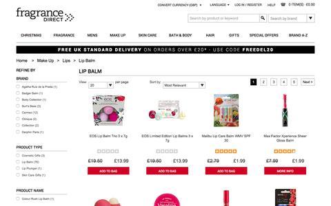 Lip Balm | Fragrance Direct