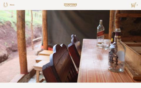 Screenshot of Blog stumptowncoffee.com - Spirit Guide | Stumptown Coffee Roasters Blog - captured Jan. 28, 2016