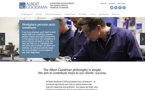 Albert Goodman | Chartered Accountants | Home