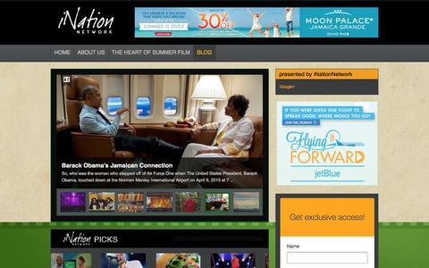 Screenshot of Blog inationnetwork.com - blog - iNation NetworkiNation Network - captured Feb. 11, 2016