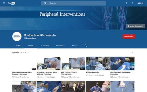 Boston Scientific Vascular - YouTube