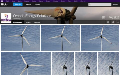 Screenshot of Flickr Page flickr.com - Flickr: OrendaEnergy's Photostream - captured Oct. 26, 2014