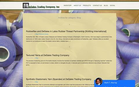 Screenshot of Blog desales.com - DeSales Trading | Blog Archives - DeSales Trading - captured Oct. 8, 2018