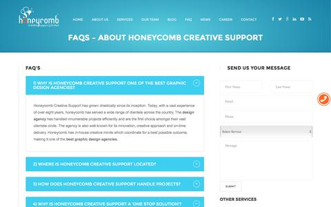 HoneyComb Creative Support in Bangalore – Logo Designing | Brochure Designing |Packaging Design