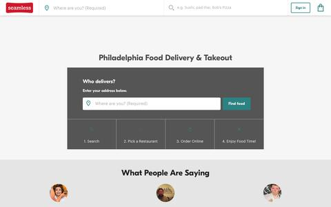 Philadelphia Delivery - 1,207 Restaurant Menus | Seamless