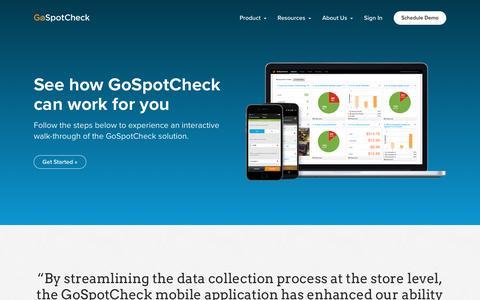 Product Tour | GoSpotCheck