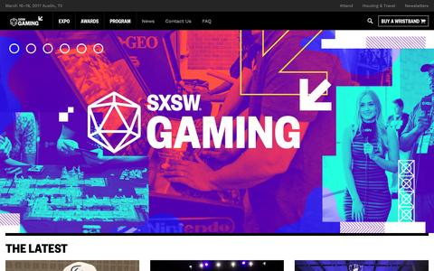 SXSW Gaming Conference & Festival