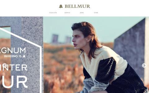 Screenshot of Home Page bellmur.com - Bellmur - Moda, Prendas de vestir, Zapatos, Accesorios - captured June 17, 2015