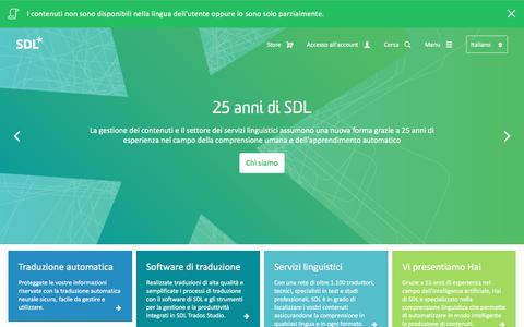 SDL: azienda di traduzione e gestione dei contenuti