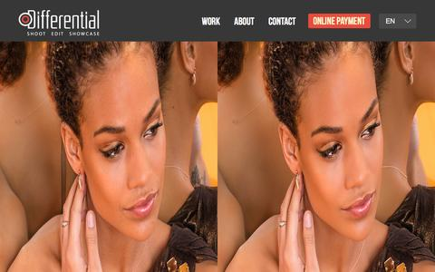 Screenshot of Home Page differentialimaging.com - Image Editing Services in India | Differential Imaging - - captured Jan. 7, 2016