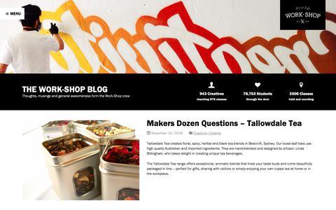 Screenshot of Blog work-shop.com.au - Blog - Work-Shop - captured Oct. 20, 2018