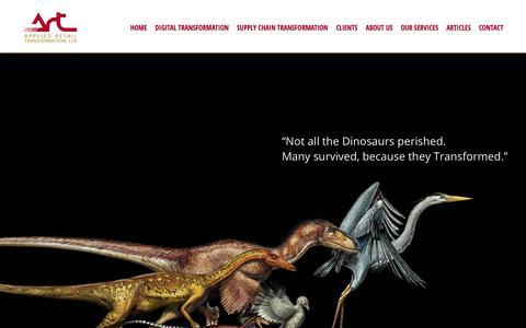 Screenshot of Home Page artltd.com - Home - ART LtdART Ltd - captured Oct. 3, 2018