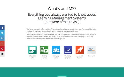 What is an LMS / Definition and Uses - TalentLMS