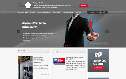 Screenshot of Home Page kconsult.pl - Strona Główna | K-Consult - captured Oct. 3, 2014