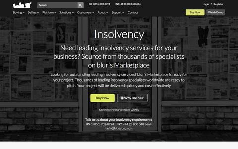 Insolvency Law Services | blur Group