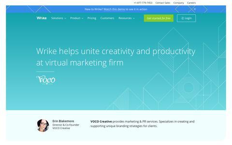 Voco creative - Wrike