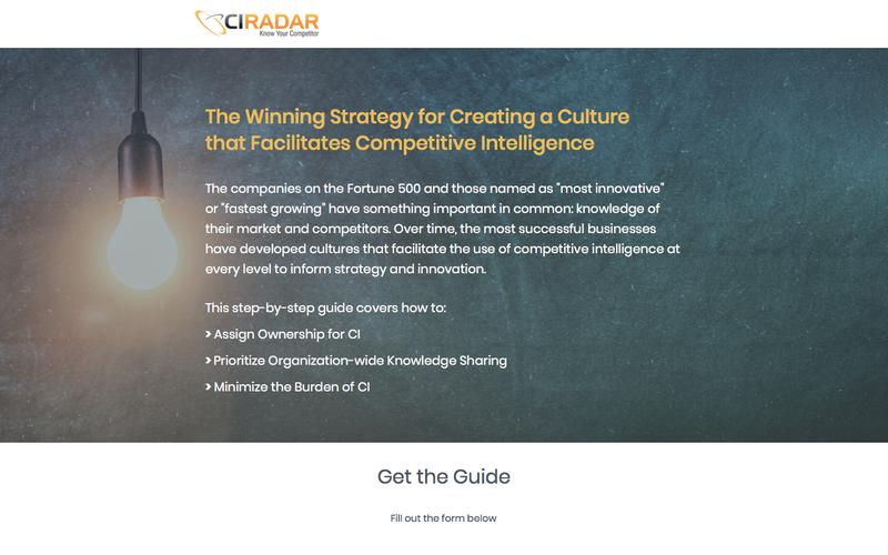 How to Create a Competitive Corporate Culture