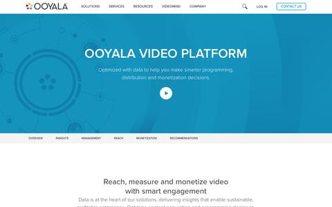 Ooyala Video Platform