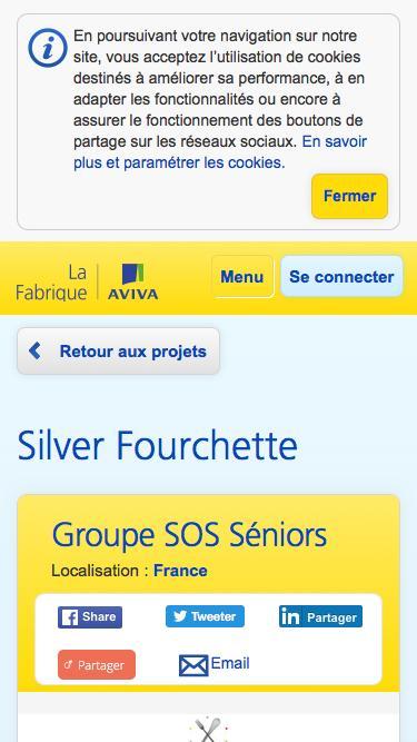 Silver Fourchette    La Fabrique Aviva