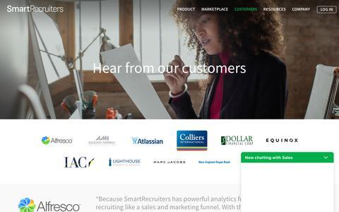 Customers | SmartRecruiters