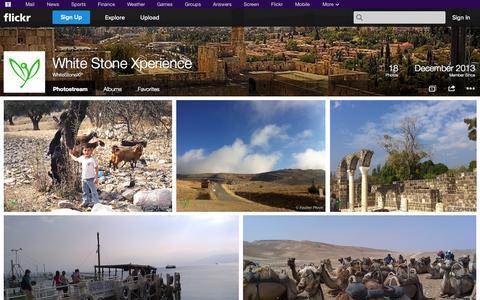 Screenshot of Flickr Page flickr.com - Flickr: WhiteStoneXP's Photostream - captured Oct. 26, 2014