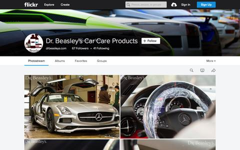 Screenshot of Flickr Page flickr.com - Dr. Beasley's Car Care Products | Flickr - Photo Sharing! - captured Oct. 1, 2015