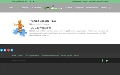 About | TheGolfDirector.com