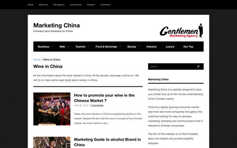 Wine in China Archives - Marketing China