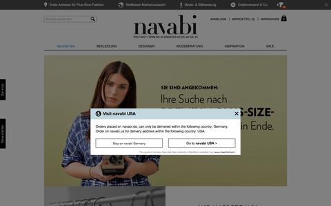 Screenshot of About Page navabi.de - About Us | navabi - captured Dec. 4, 2016