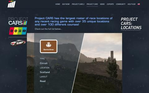Screenshot of Locations Page projectcarsgame.com - Locations - Project CARS - captured Oct. 19, 2018