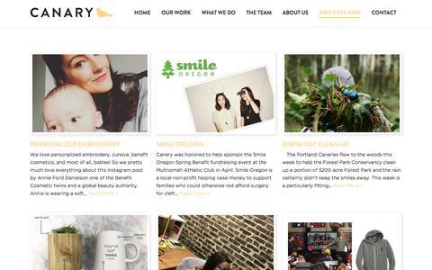 Screenshot of Blog canarymarketing.com - Blog - Canary Marketing : Canary Marketing - captured July 14, 2017