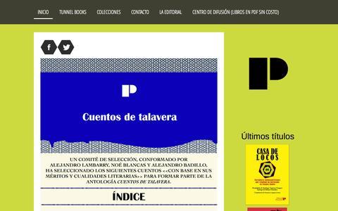 Screenshot of Home Page editorial-paroxismo.com - Editorial Paroxismo - Editorial Paroxismo. La editorial que difunde la literatura escrita por autoras y autores marginales. - captured Sept. 27, 2015