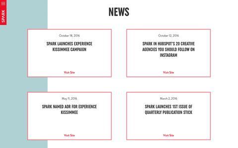SPARK : News
