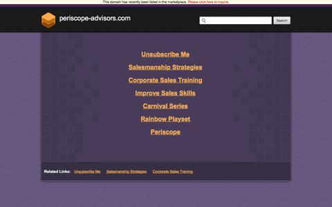 Periscope-advisors.com