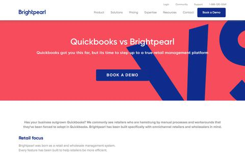 Quickbooks vs Brightpearl | Brightpearl - Brightpearl