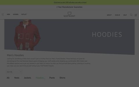 Men's SCOTTeVEST Clothing -