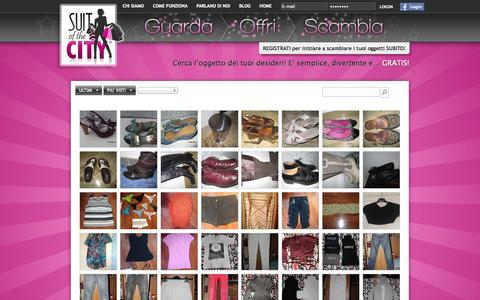 Screenshot of Home Page suitofthecity.it - Suitofthecity.it - Home - captured Sept. 30, 2014