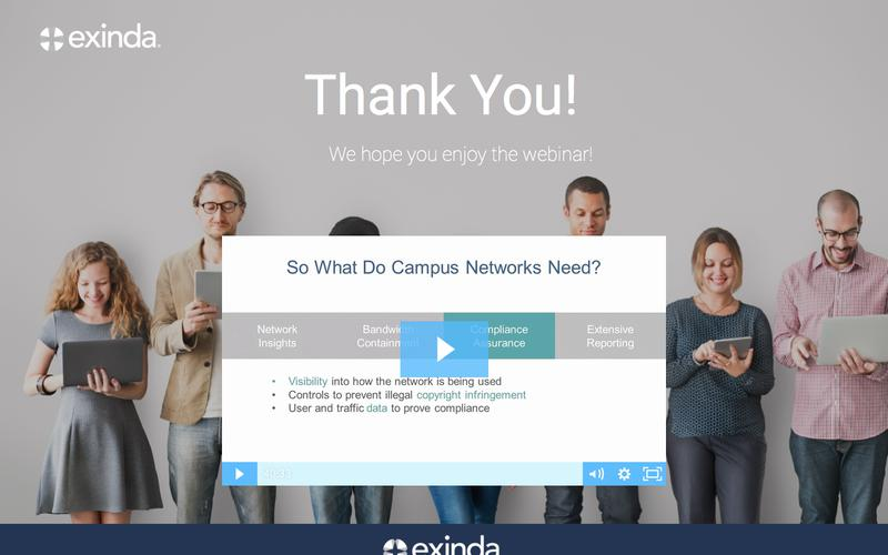 Maximize your Campus Bandwidth Investment | Exinda