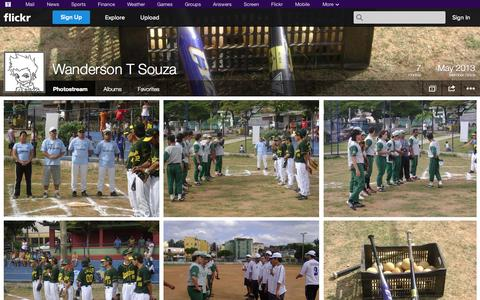 Screenshot of Flickr Page flickr.com - Flickr: Wanderson T Souza's Photostream - captured Oct. 27, 2014