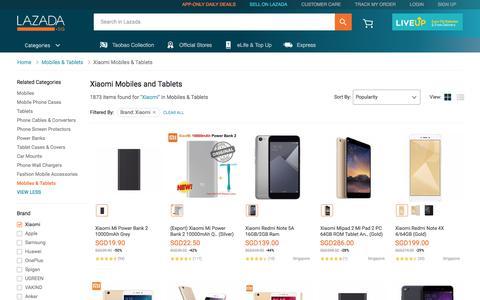Buy Xiaomi Mobiles | Xiaomi Tablets | Lazada.sg