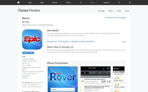 Revor on the App Store