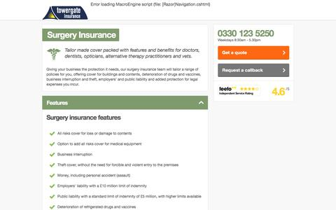 Surgery Insurance | GPs, Doctors, Dentists & Vets | Towergate