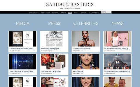 Screenshot of Press Page sabidobasteris.com - News Sabido   Sabidobasteris - captured Dec. 20, 2015