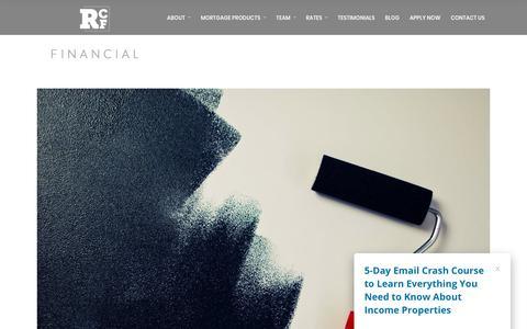 Screenshot of Blog rivercityfinancial.ca - Blog - River City Mortgage - captured Oct. 22, 2017