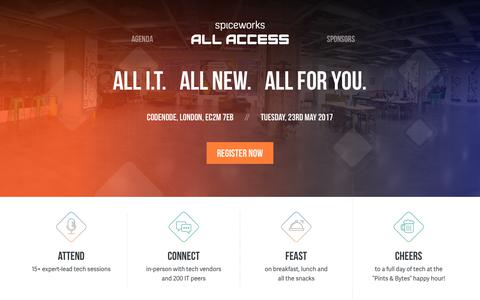 Spiceworks All Access London