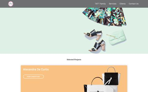 Screenshot of Case Studies Page theaccessorythinktank.com - Case Studies of Fashion Brands | Designer Handbags, Leather Goods - captured June 14, 2017